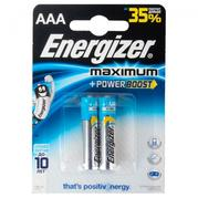 Батарейка Energizer Maximum AAA LR03 2 шт. (638441)