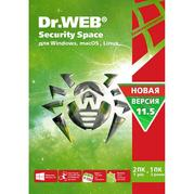 Антивирус Dr. Web Security Space 2 ПК 1 год (KHW-B-12M-2-A3)