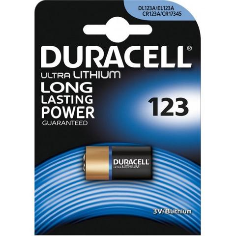 Батарейка Duracell CR123/DL 123 1 шт. (5000394123106/5000784)