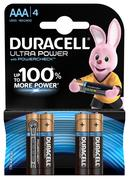 Батарейка Duracell UltraPower MN2400 АAA LR03 4 шт. (5004806)