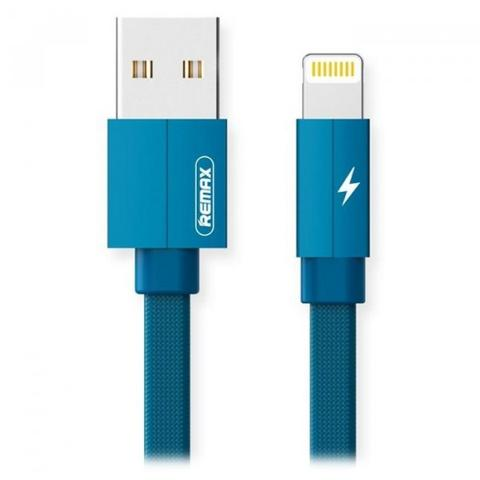 Кабель Remax Kerolla RC-094i USB2.0 AM to Apple Lightning 1м Blue (RC-094I1M-BLUE)