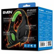 Гарнитура Sven Black/Green (AP-G852MV)