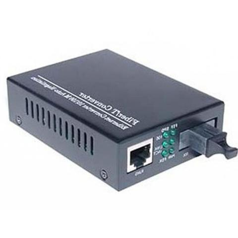 Медиаконвертер Merlion 10/100Base-TX to 100Base-F 1550нм SM SC/RJ-45 25км (1550_WDM)